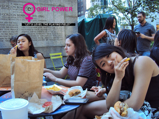 eGirl Power Junior Council Meeting at Shake Shack