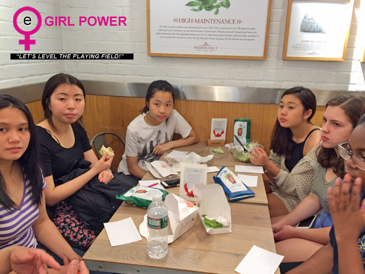 eGirl Power Junior Council Meeting at Pret A Manger
